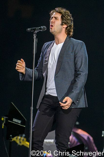 Josh Groban @ In The Round Tour, The Palace Of Auburn Hills, Auburn Hills, MI - 10-24-13 by schwegweb, via Flickr
