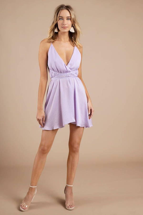 Feel romantic in our Juliet Plunging Skater Dress. Featuring a plunging  neckline ec0c6b07b