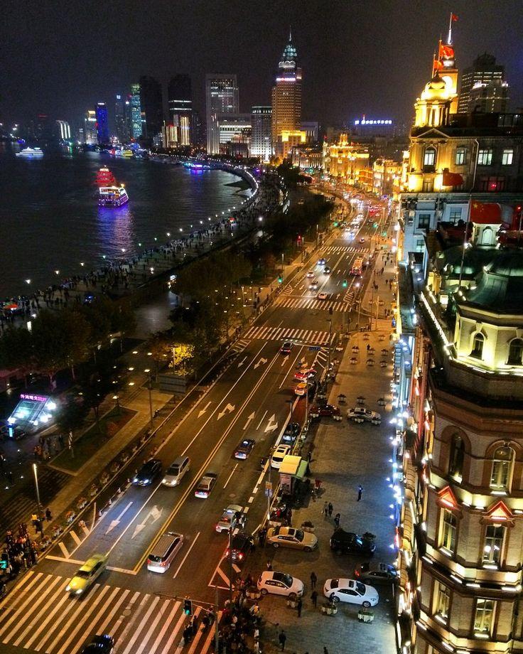 The Bund, Fairmont Peace Hotel, Shanghai, China