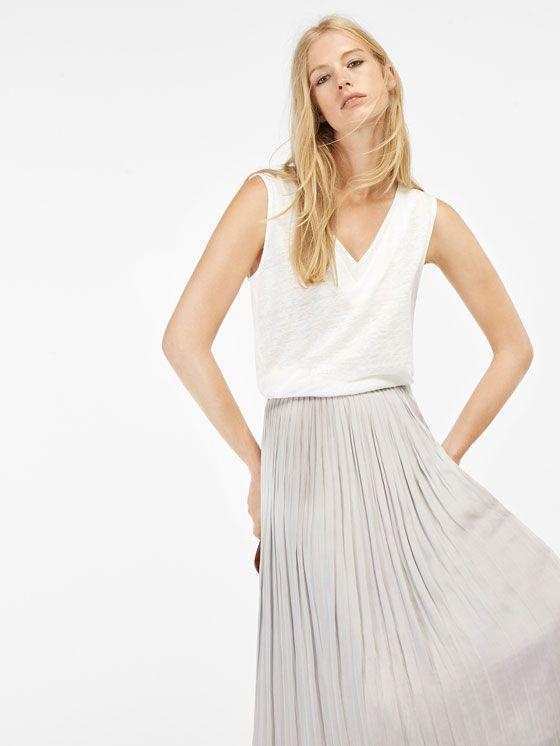 Camisetas y tops de mujer | Massimo Dutti