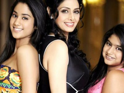sridevi with her daughters- Parenting resources by ZenParent