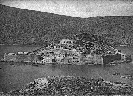 Spinalonga,Crete,1897.