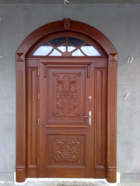 Ekskluzywne drzwi drewniane - producent