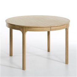 table ronde à rallonge La Redoute