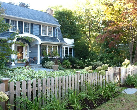 Dutch colonial with front porch design pictures remodel for Colonial fence designs