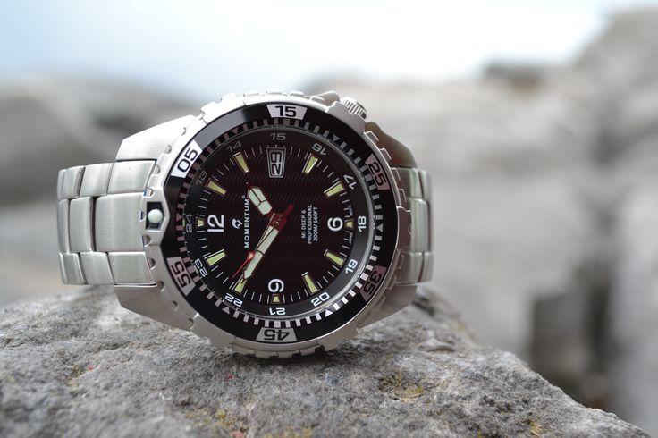 The Deep 6 SS.  www.momentumwatch.com