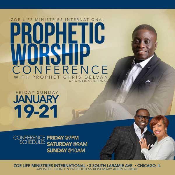 Zoe Life Ministries International presents a Prophetic