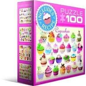 100 Piece Mini Cupcakes Puzzle Eurographics Jigsaw Jigsaws CUP Cakes | eBay
