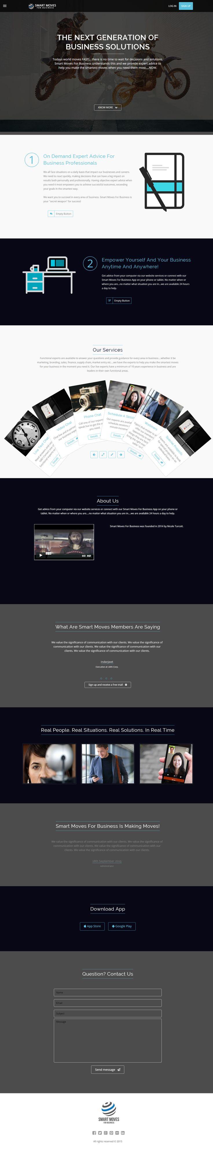 #WebConference Business Sample design #webbrainz