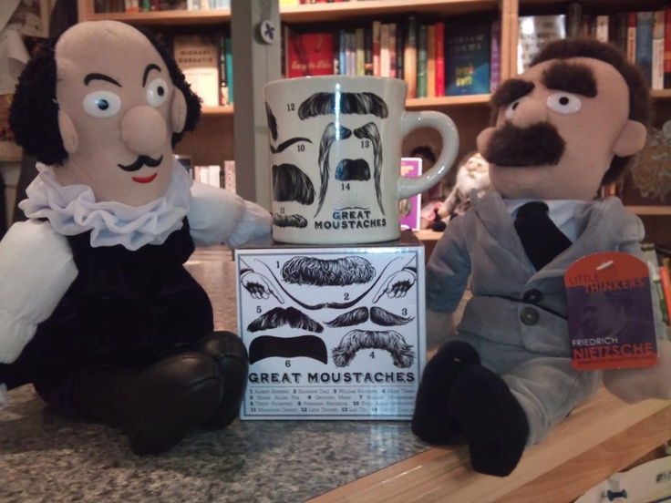 The King's Co-op Bookstore has all kinds of lovely things King's! (like moustaches!)