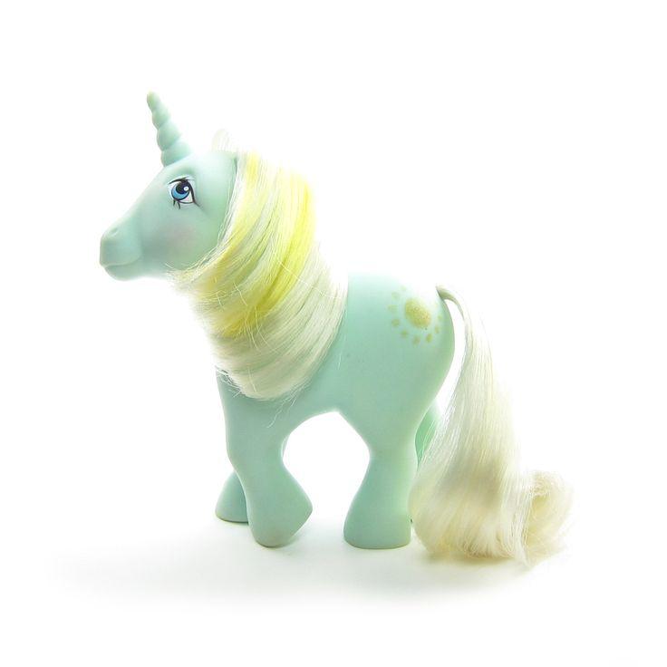 Sunbeam Unicorn My Little Pony Vintage G1