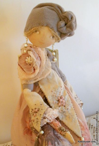 """Коллекционные куклы ручной работы. Ярмарка Мастеров - ручная работа """"Модерн""""Коллекционная кукла. Handmade."""