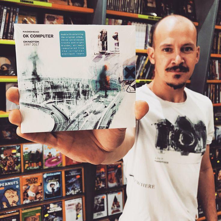 Ecco OKNOTOK uscito per il 20esimo anniversario di OK COMPUTER dei #radiohead 😎  #thrauma #viareggio #okcomputer #oknotok #album