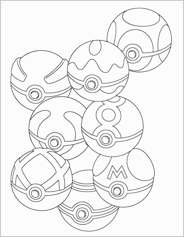 Inspired Image Of Pokeball Coloring Pages Pikachu Coloring Page