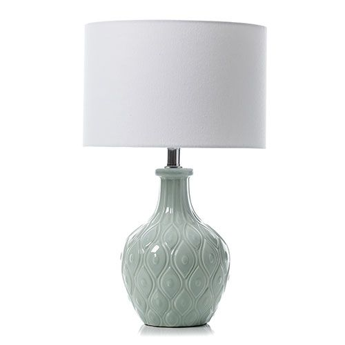 KOKO Blue Ceramic Table Lamp