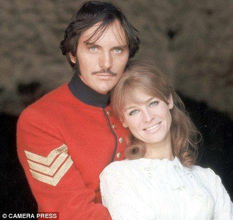Far from the Madding Crowd. Sergeant Troy(Terence Stamp) and  Bathsheba (Julie Christie)