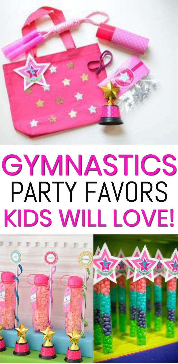 gymnastic party favors the best party favors for birthdays gymnastic meets and end of season parties boys and girls will love any of these favor ideas