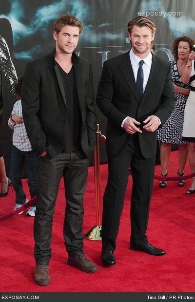 Hemsworth brothers... How I   love Australian men!