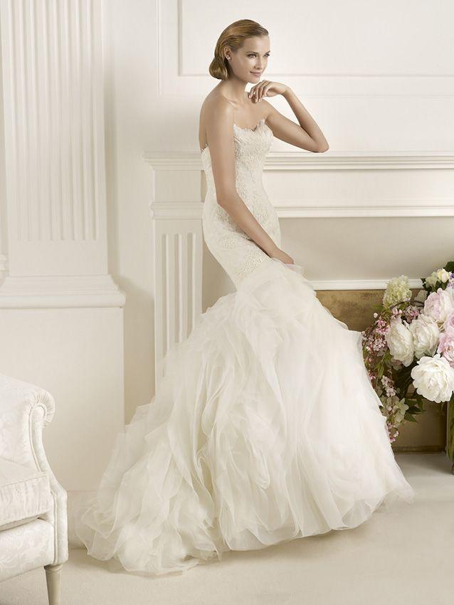 43 best Wedding dress images on Pinterest | Short wedding gowns ...