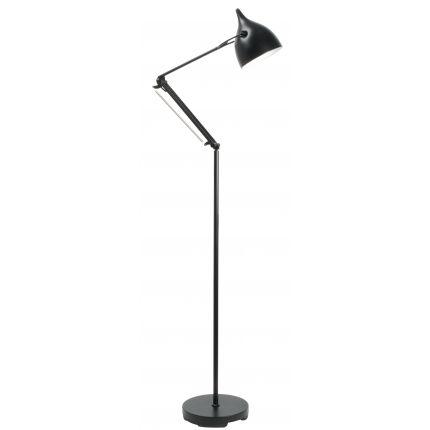 Stojací lampa ZUIVER READER, černá