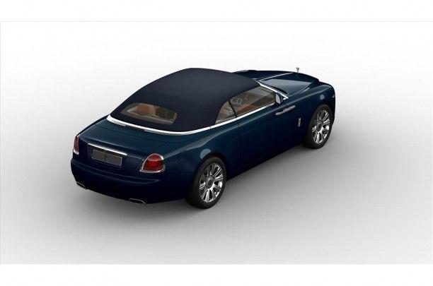 Biedt u deze, Rolls-Royce Dawn aan en is 5,29 meter lang / 1,95 meter breed, terwijl de auto op en wielbasis van 3,11 meter staat.