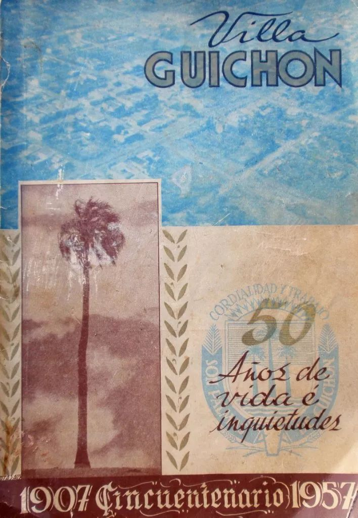 album guichon 1907-1957 50 años dep paysandu estancias