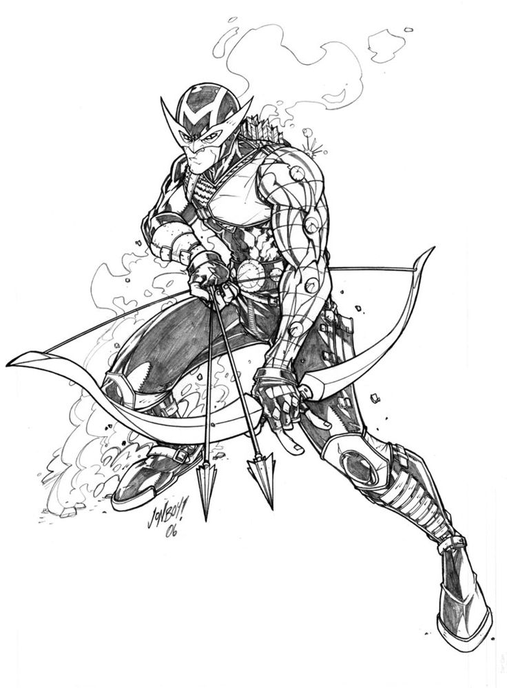 Hawkeye by Jonboy007007 on deviantART Horse coloring