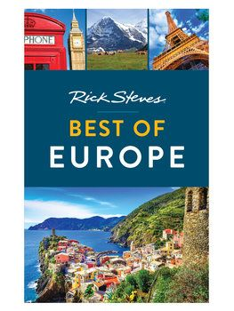 This Rick Steves book is perfect for travelers on a whirlwind trip around western Europe.