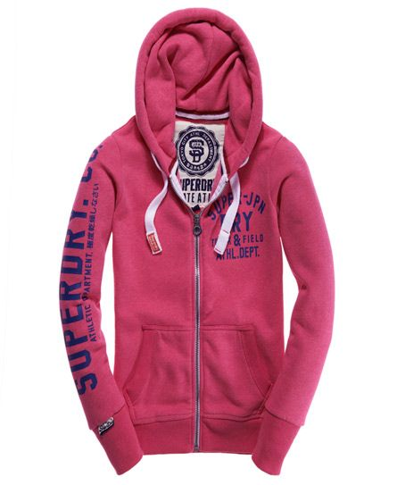 Superdry hoody for Spring #Pink
