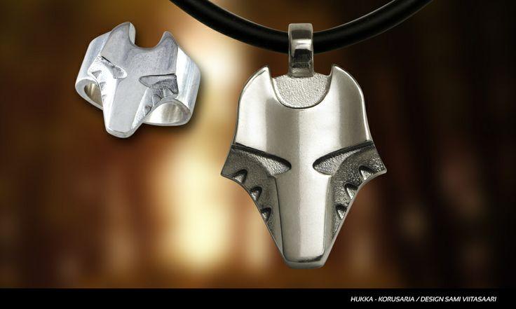 Wolf ring, Hukka. Design Sami Viitasaari. Available: www.taigakoru.fi