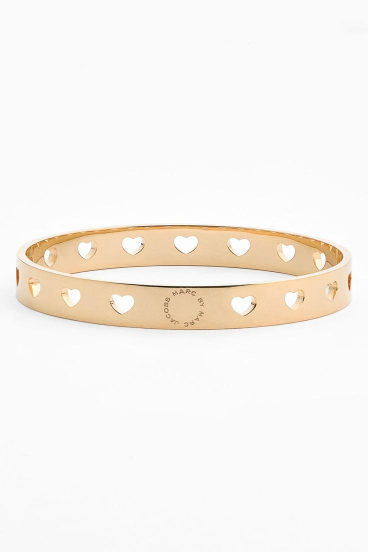 Marc by Marc Jacobs | 'Key Items' Heart Cutout Bangle