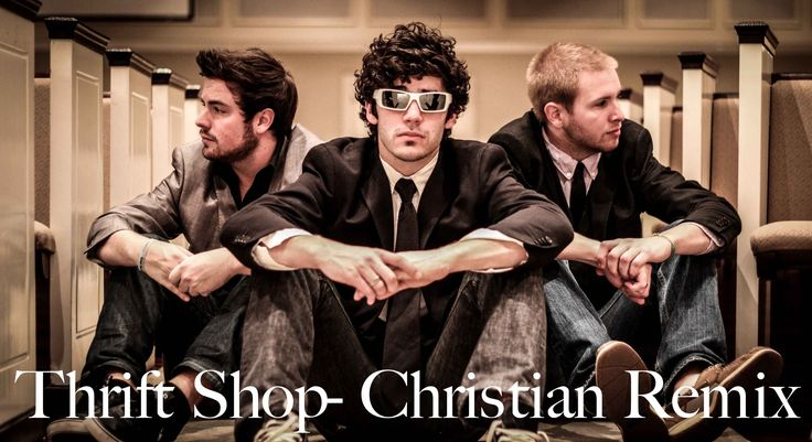 Thrift Shop - Christian Remix, via YouTube. Sooooooooooooooo funny! my favorite part is the dancing in the background