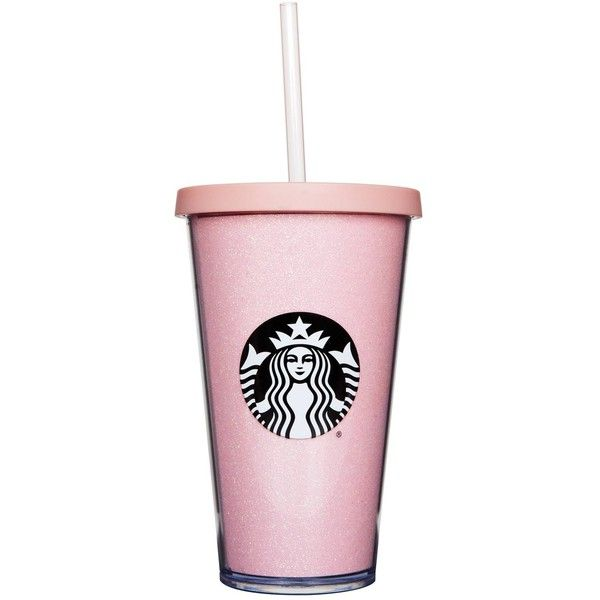 How Long Are The Starbucks Rose Gold Cups Available? You Don't Have... ❤ liked on Polyvore featuring home, kitchen & dining, drinkware, rose gold coffee tumbler, rose gold tumbler, pink coffee cup, coffee cup and rose tumbler