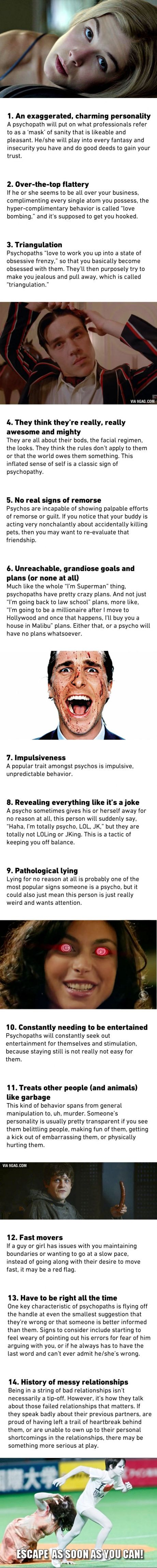 14 Warning Signs That You're Dating A Psychopath