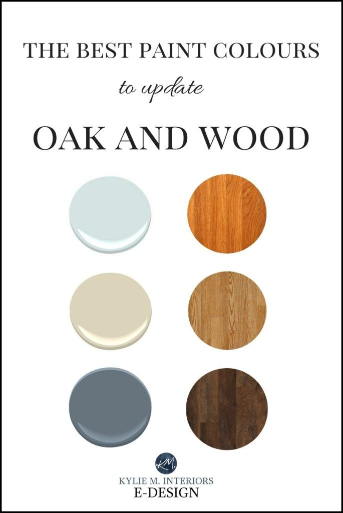 The 16 Best Paint Colours To Go With Oak Or Wood Trim Floor Cabinets And More Kylie M Interiors Paint Colors For Living Room Kitchen Paint Colors Cool Paintings