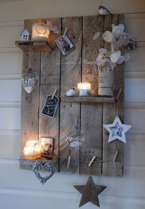 Put your house in Christmas mood with a beautiful decorative light board … 7 DIY ideas