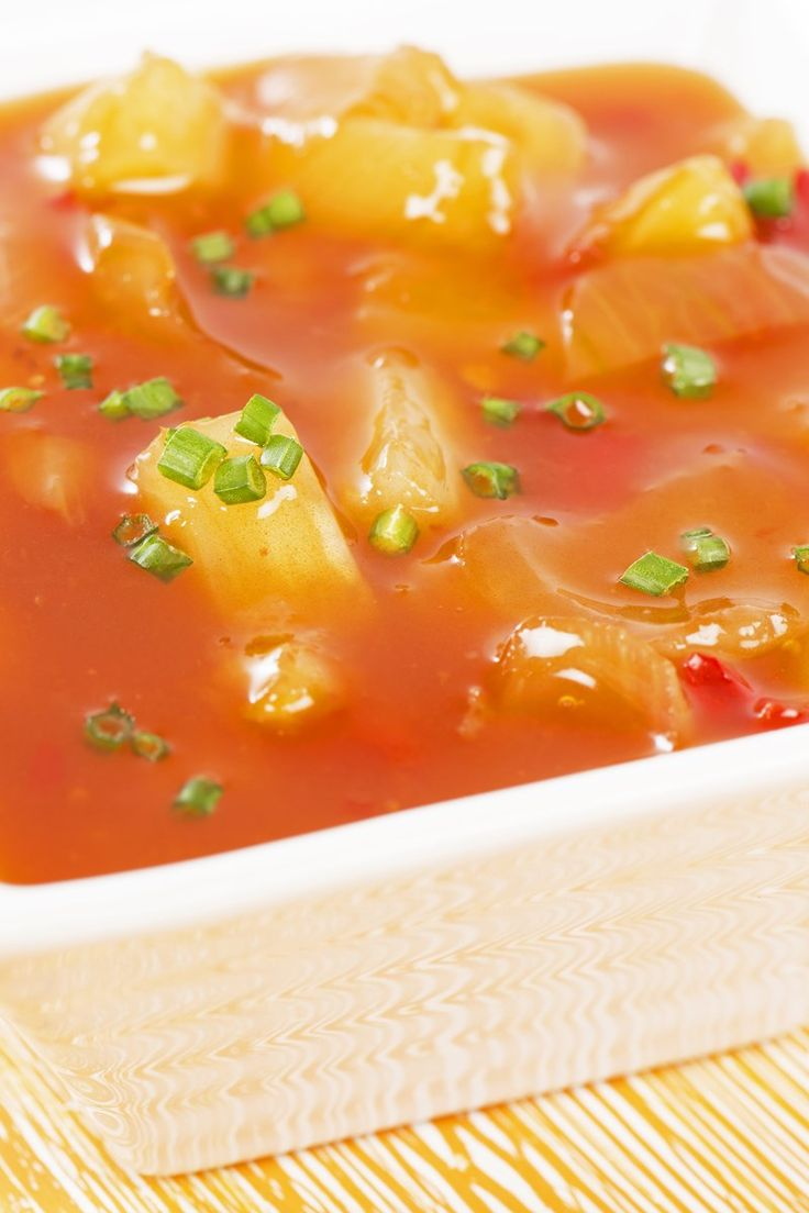 The Best Sweet And Sour Sauce With Pineapple Recipe Gluten Free Low Fat And Low Calorie