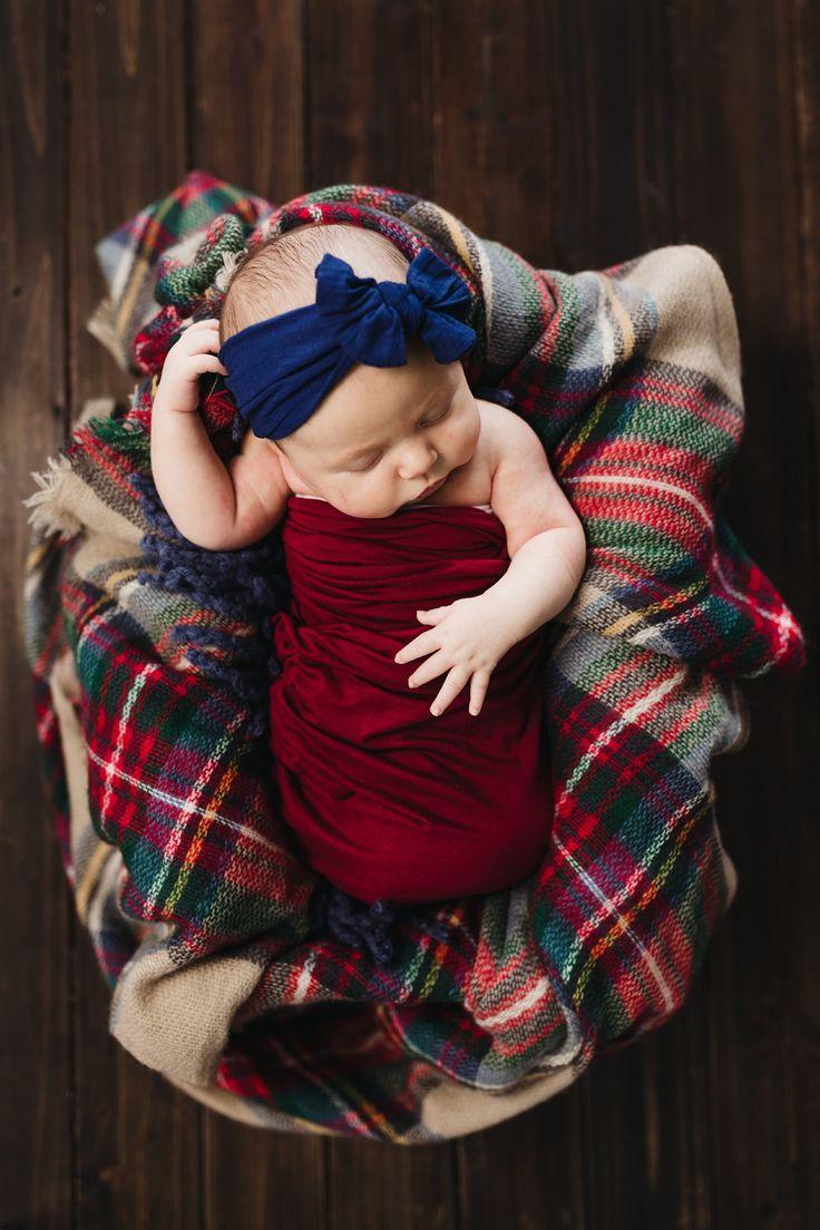 Plaid Newborn Girl Session {Neugeborene Fotografie}   – Just…. need to categorize