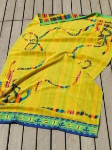 Smoothies Velour Beach Towel L