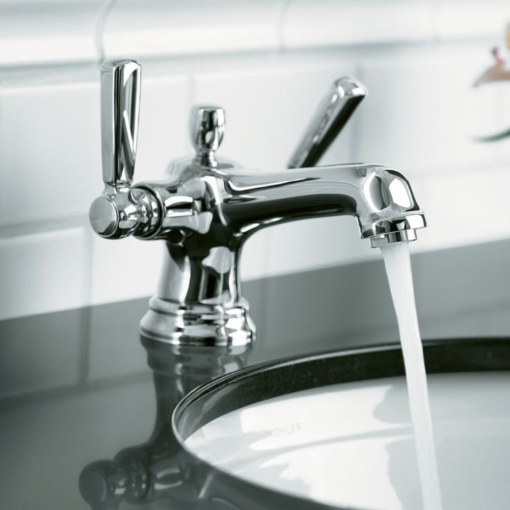 handle co widespread brushed nickel bancroft two lavatory faucet kohler mini faucets bathroom