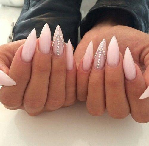 Creative Stiletto Nail Designs - Top Dreamer