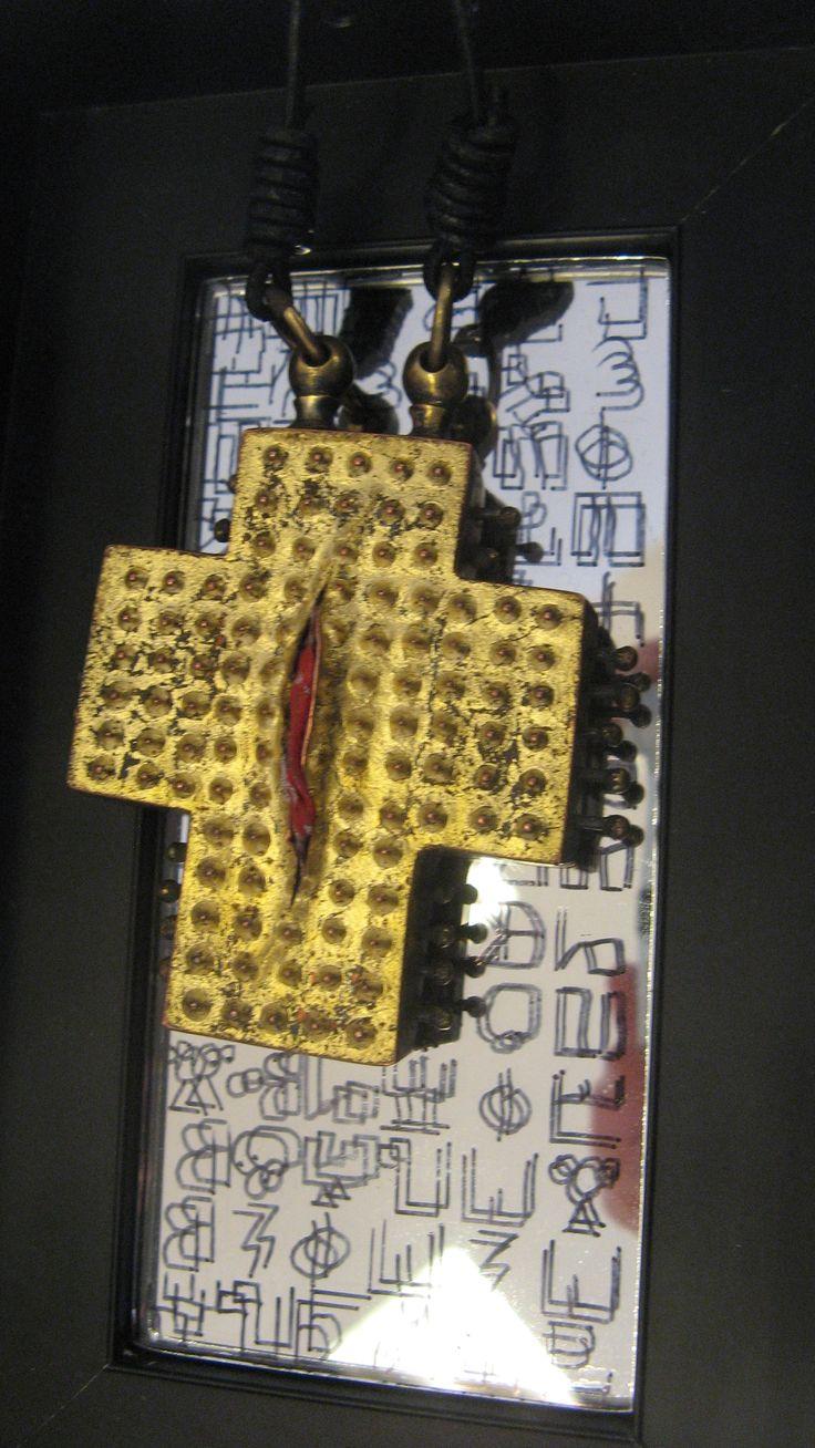 Huberto Široka (croix de vie) - Muggia Museo U Carà - FiloRosso 2015-  :