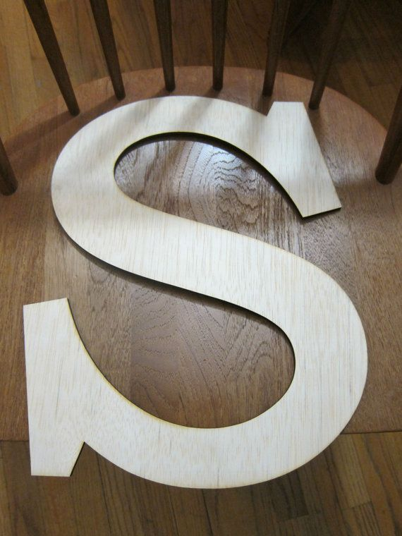 43 best s for sasnett images on pinterest decorated for Wooden letters for crafts