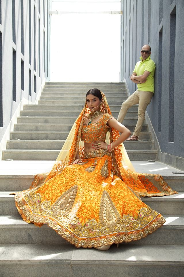 Lengha by Mayyur Girotra #lehenga #choli #indian #shaadi #bridal #fashion #style #desi #designer #blouse #wedding #gorgeous #beautiful