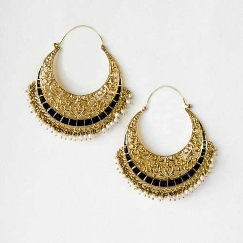 Classic Indian earrings