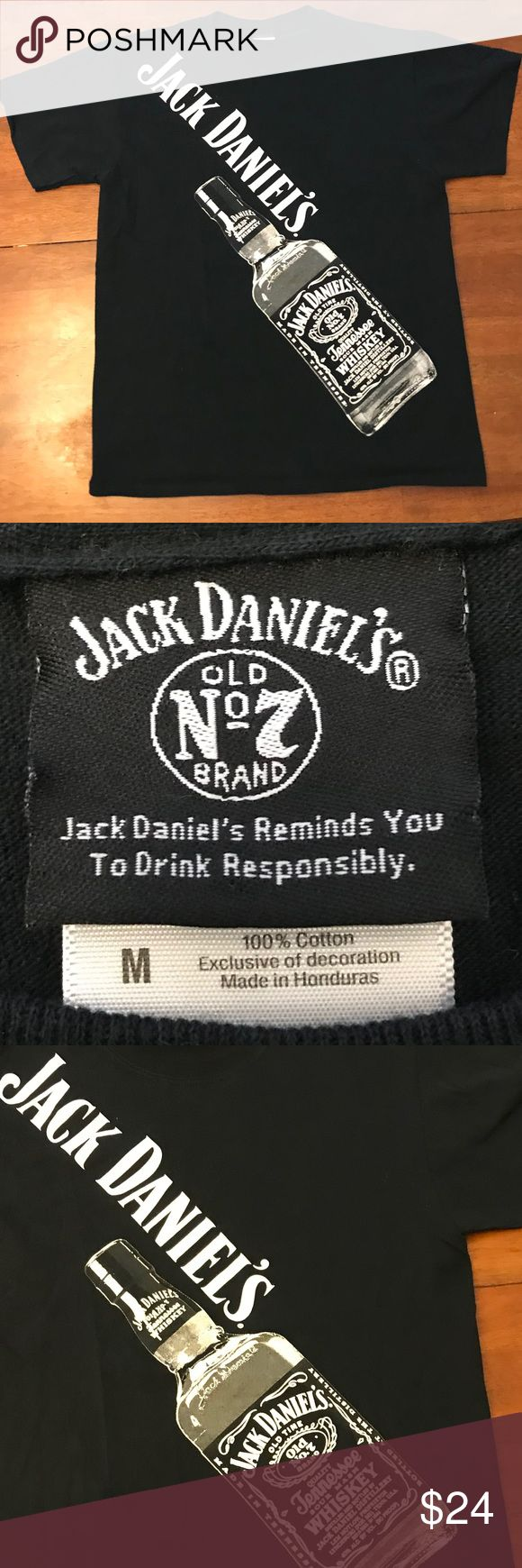 Vintage Jack Daniels Whiskey T-shirt G-Eazy Sz M I love me some Jack! I know you do too, so don't hide it. In fact be proud rock this shirt out all night long. You know G-Eazy would! Men's size Medium. No rips no stains no holes. I ship fast and my items are the freshest! Jack Daniel's Shirts Tees - Short Sleeve