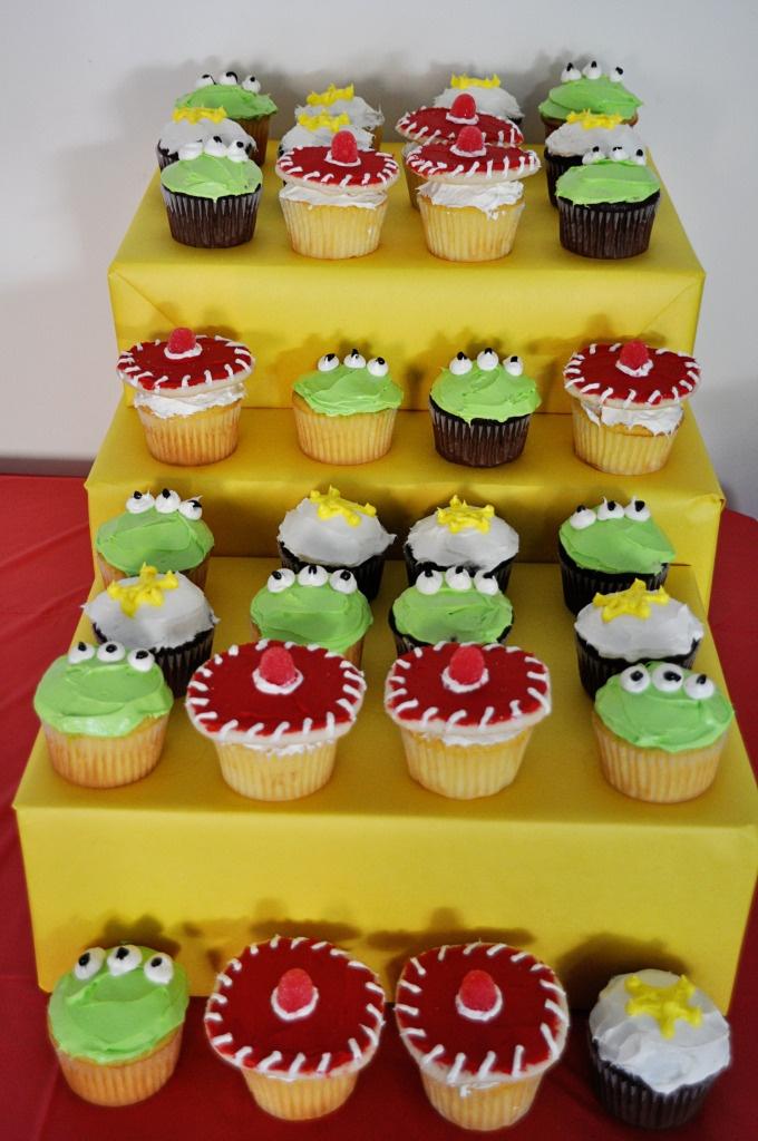 toy story cupcakes--aliens, jessie, sheriff