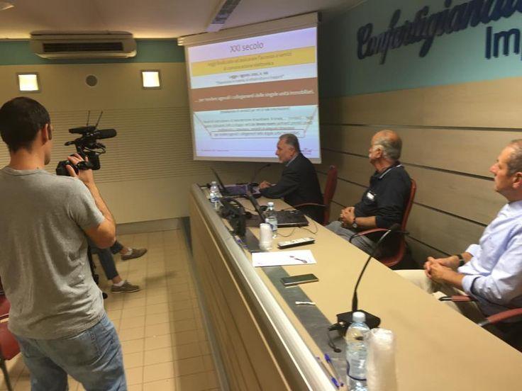 29/9/2016 - Seminario Spazi Installativi per banda larga e ultra larga negli edifici promosso da Confartigianato Impianti e Collegio Periti