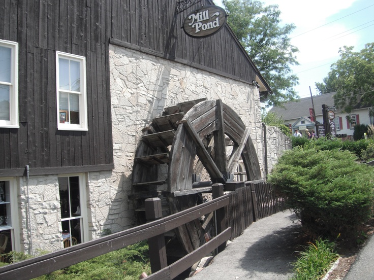 Mill Pond water wheel. Long Grove, IL