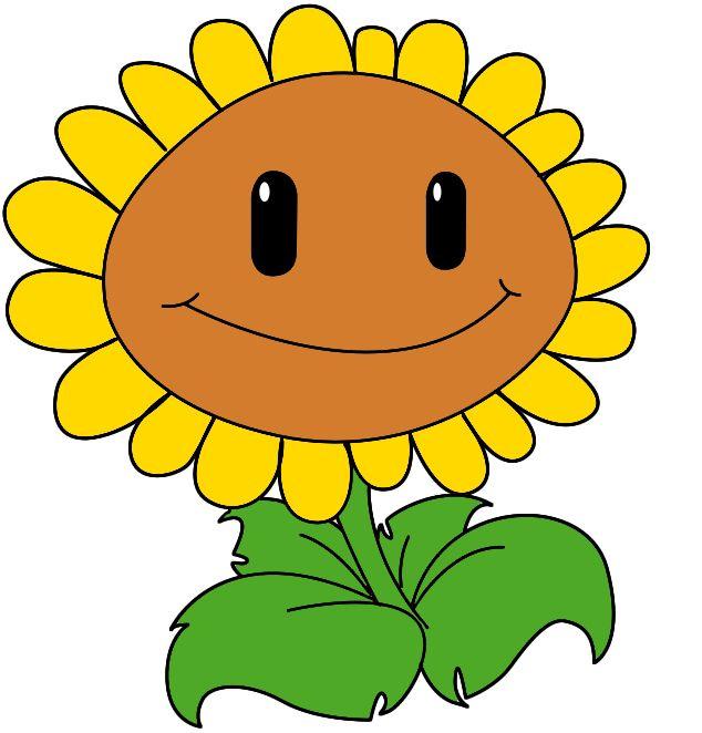 Картинки растений мультяшные забавные